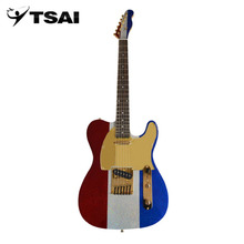 TSAI Guitar Basswood Body Maple Wood Neck Rose Wood Fingerboard 22 Frets Guitar For Party Stage Playing electric SY-TL-005(China)