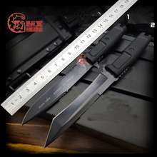Best Quality BIGONG Survival Knife N690 steel Blade rubber handle EXTREMA RATIO Camping knife Outdoor Preferred Tool(China)