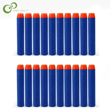 20pcs Hollow Hole Head Foam Soft Bullets Toy Gun Darts for Nerf Refill Darts 7.2cm Universal Blasters for N-strike Elite SeriGYH(China)
