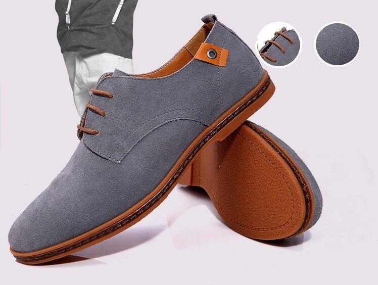 Classic Men Flats Gentleman Oxford Genuine Leather Dress Shoes Men Flat Shoes Luxury Casual Shoes Size 39-47 12