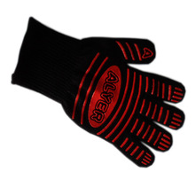 Heat Proof Resistant Mitt Ove Oven Glove Burn BBQ Fire Hot Surface Handler.