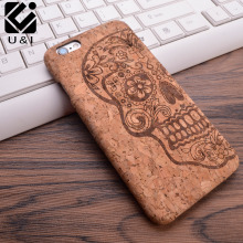 U&I 2017 New Wood Grain Design Soft TPU Fiber Crack Any Carvings Pattern Back Phone Cover for iPhone 5 5S SE 6 6S 7 7plus