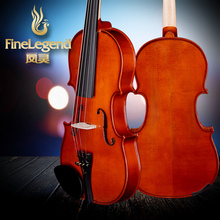 Free Shipping FineLegend 4/4 Full Size Rosewood Parts Handmade Professional Violin Solid Maple with Bow, Case, Rosin LCV1116