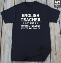t-shirts for English teachers