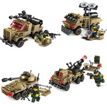 Buy KAZI Military Field Army Soldiers Compatible Legoed Building blocks Weapon Bricks Action Figures Enlighten Toys Children Kid for $14.24 in AliExpress store