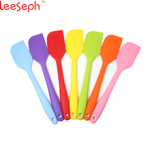 8 inch Silicone Spatula - 1 Small Heat Resistant Non-Stick Cooking Utensils (Multicolor)(China)