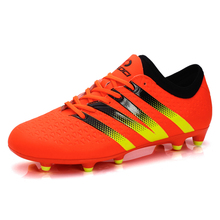 2017 New FG Soccer Shoes Mens soccer cleats sport men shoes 38-44 football men boot free shipping AG cleats boots