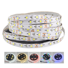 3528 2835 SMD 5M 300 LED Strip RGB Decorative light tape String 60LEDs/M DC12V LED Ribbon For Pathway Kitchen Night lighting(China)