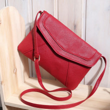 2017 Diagonal Magnetic Button Handbag Women's Bag High Quality Crossbody Shoulder Messenger Bags Women Envelope Clutch Designer