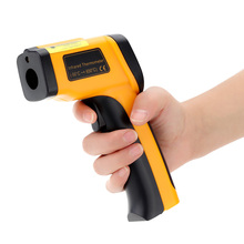 Professional Non-contact Digital Infrared Thermometer IR Temperature Laser Gun Diagnostic-tool Tester Pyrometer Range -55~650C(China)