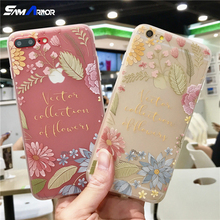 Phone Cases Fashion Soft Silicone Clear TPU Back Cover Fundas Coques for Apple iPhone X 7 8 6 6S Plus 5S SE 5 Pink Lotus Leaf(China)