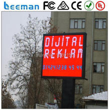 P10 Full color outdoor LED display billboard/electronic LED sign outdoor led board panel