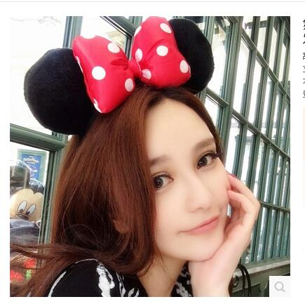 bar nightclub party party sweet and playful accessories headband bow hair hoop hair fight than gears<br>