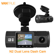 Original Vantrue N2 Dual Lens Car DVR-1080P FHD Front and Near Wide Angle Car Camera Car Dash Cam with G-Sensor Parking Mode(China)