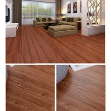 91.44*15.24cm Self-Adhesive PVC Floor Tiles Wood Grain Texture 5 Square Meter Flooring(China)