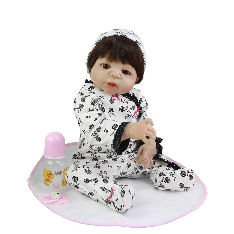 So Truly Real 23 Inch Girl Princess Doll Lifelike Reborn Newborn Babies Toy Waterproof Realistic Dolls Kids Birthday Xmas Gift<br><br>Aliexpress