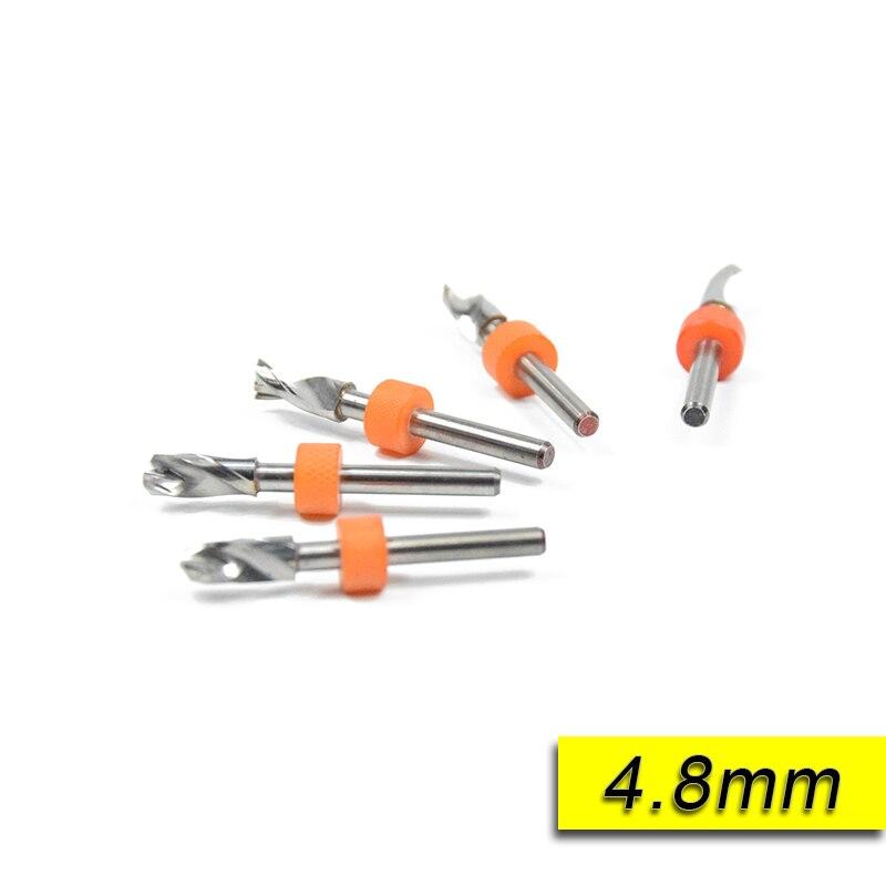 XCAN 10 Pcs 4.8mm Import Carbide PCB Drill Bits drill  woodworking dremel drill  carbide drill bits<br><br>Aliexpress