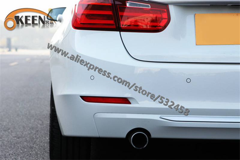 OKEEN Brand High Quality  LED Rear Lihgts Automobiles Red  Bumper Reflector Lights Tail Light Parking Warning  For BMW 3 series<br><br>Aliexpress
