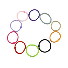 Durable Beautiful Hair AccessoriesBaby Children Elastic Hair Band Accessory Black Plus Velvet Hair Rope Headband Mix Candy Color