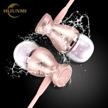 Metal Magnetic Sport Running Earphone Earbuds Clarity Stereo Sound With Mic Headset Headphone For Mobile Phone MP3 MP4 PC(China)