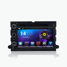 android 5.1.1 quad core 1024*600 HD LCD car dvd player for ford Mustang Expedition Fusion Explorer 2005-2010 gps radio navi wifi(China)