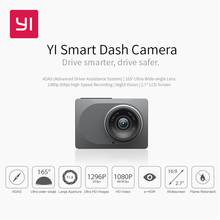 "YI Smart Dash Camera International Version WiFi Car DVR Night Vision HD 1080P 2.7"" 165 degree 60fps ADAS Safe Reminder(China)"