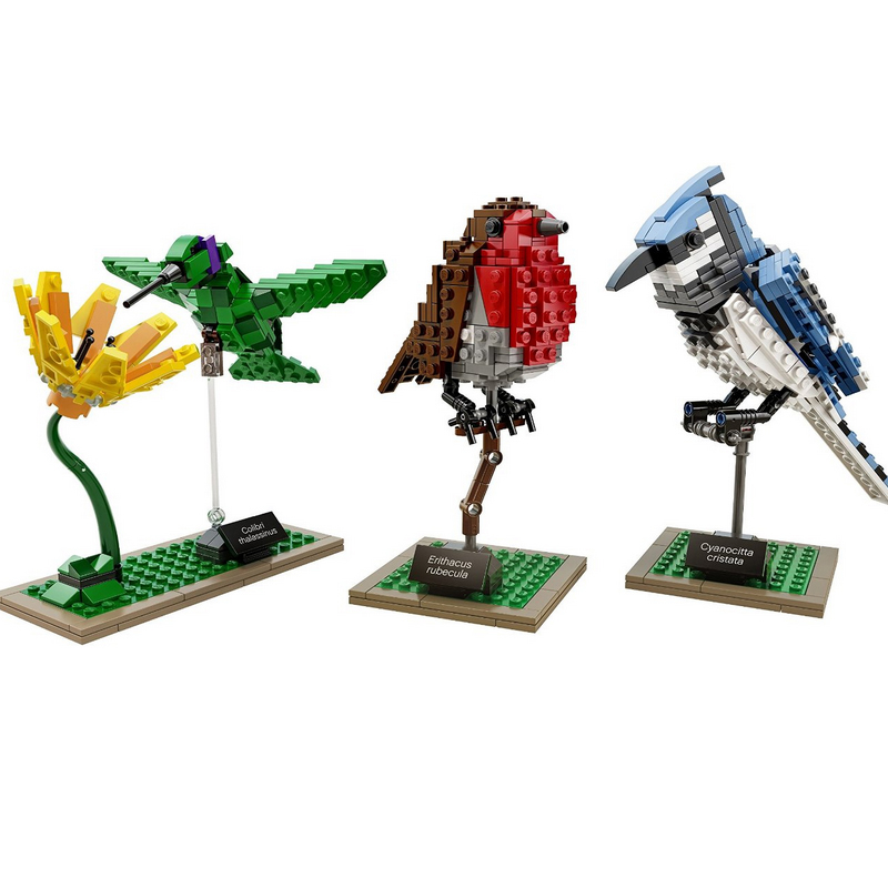 Lepin 36009 Genuine Creative Series The Birds Set Children Educational Building Block Brick Toy DIY Model Christmas Gifts 21301<br>