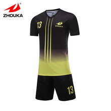 full sublimation print football training suit custom football team's jersey personalize soccer jersey free print logo number