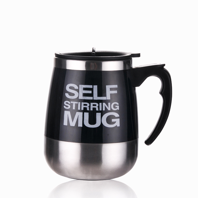 450ml Stainless Steel Self Stirring Mixing Mug Protein Shaker Multifunction Smart Mixer Blender Cup Automatic Electric Coffee Mugs (4)