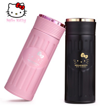 Hello Kitty 380ML Thermos Cup Mug Insulated Stainless Steel Kids Drink for Bottle Japan Vacuum Flask ChildTumbler lady student