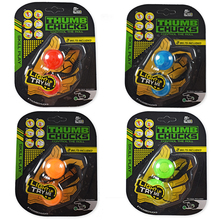 Illuminated toys ball Light Finger Movement Cuba counter Anti-Anxiety Stress Relief Toys Thumbs Chucks Bundle Control Roll