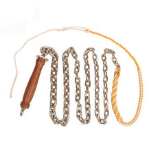 Wushu Chain Whip Pear Flower Wooden Handle Stainless Steel Whip Kung Fu Fitness Whip Outdoor Exercise Body Armor 1KG/1.5KG(China)