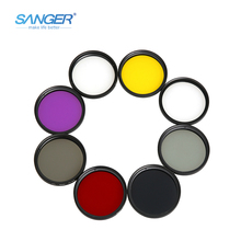 Photography Filter for Nikon Canon Sony Pentax DSLRs Polarizing Neutral Density Camera Filter Yellow Red FLD UV CPL ND2 ND4 ND8(China)