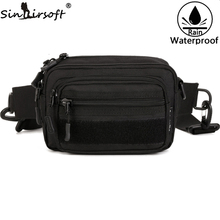 2017 SINAIRSOFT Nylon Outdoor Sports Running Waist Bags Tactical Military Travel Hiking Climbing Riding Handbag Molle Bags