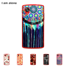 For LG E980 Google Nexus 5 Case Hard Plastic Mobile Phone Cover Case DIY Color Paitn Cellphone Bag Shell Shipping Free