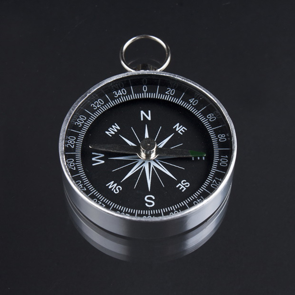 Pocket Mini useful Camping Hiking Compasses Lightweight Aluminum Outdoor Travel Compass Navigation Wild Survival Tool 1pc
