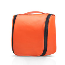 Waterproof Nylon Portable Make Up Cosmetic Bag Organizer Hanging Storage Bag Toiletry Washing Bag For Bathroom Shower Travels