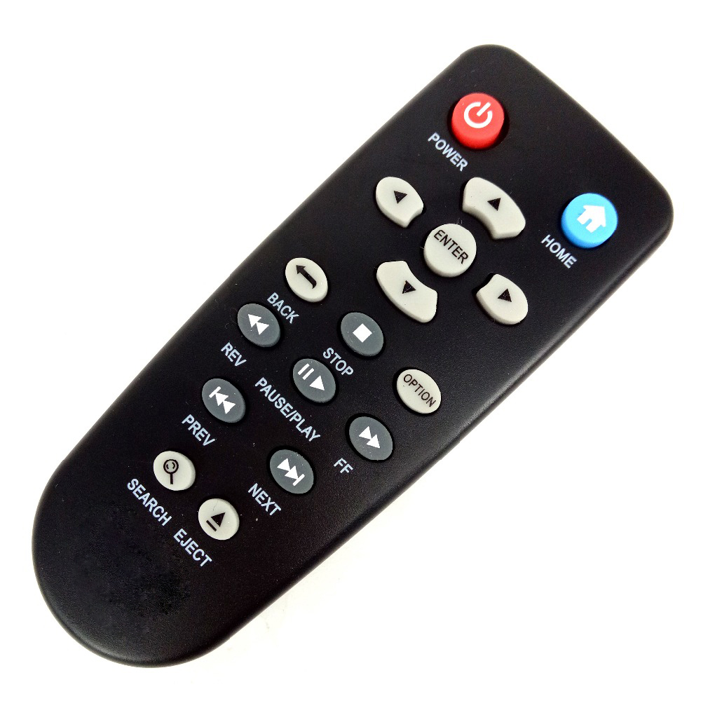 NEW Replacement Remote Control For Western Digital WD Elements TV HD Mini Live Plus Media Player(China)