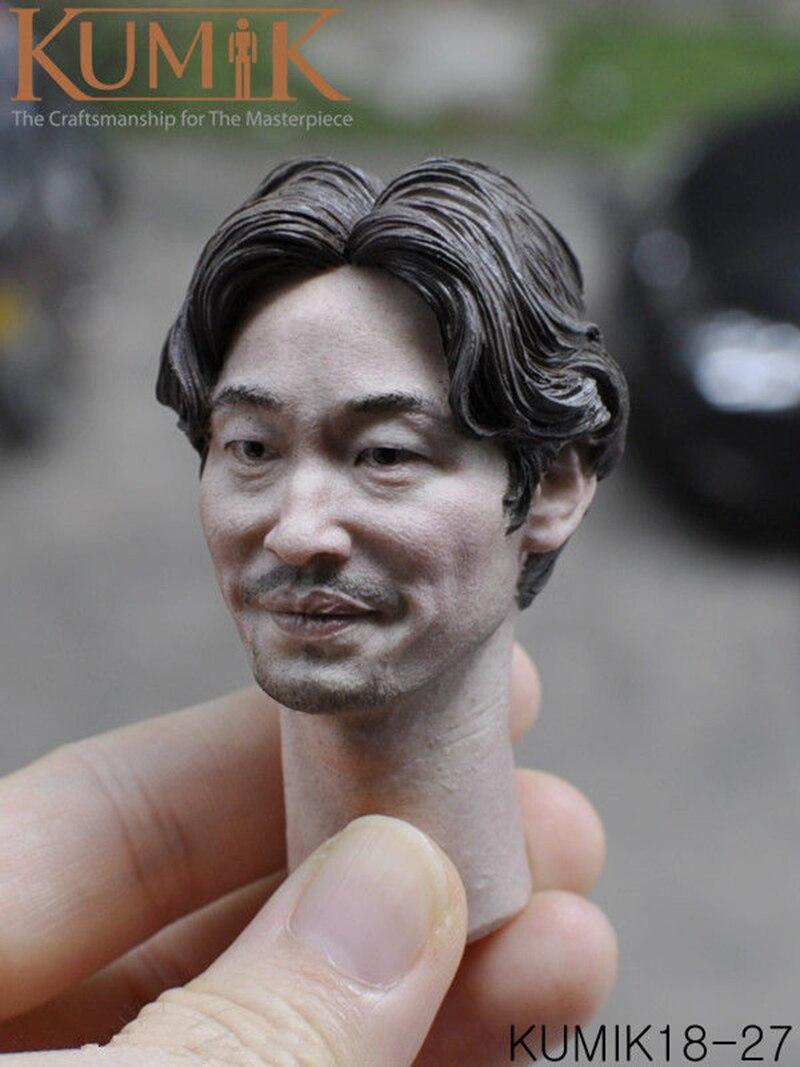1//6 Scale KUMIK KM18-23//24//25//26//27//28//29//30//31//32  Male female  Head Sculpt