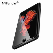 5PCS NYFundas Tempered Glass For iPhone 7 6 s Protection Front Film Screenprotector For iPhone x 8 7 6 6s Plus 5 5s se 5c 4 4s(China)