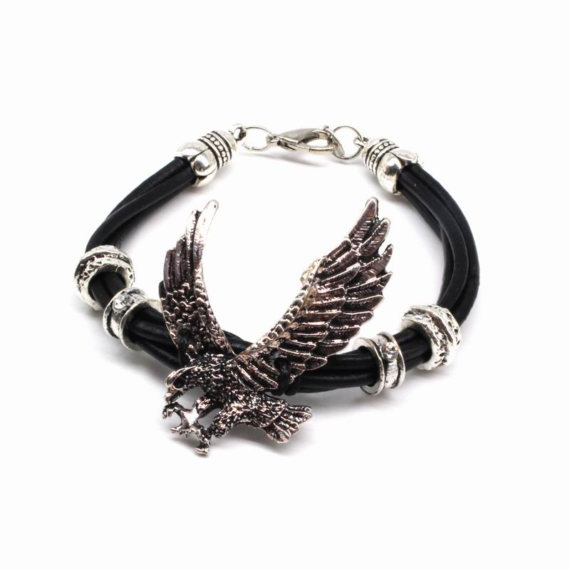 Classic Punk Vintage Leather Rope Bracelet