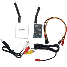 Hot 48Ch 5.8G Wireless AV Transmitter TS832 Receiver RC305 for FPV Aerial Photography Car Video wifi Rearview System