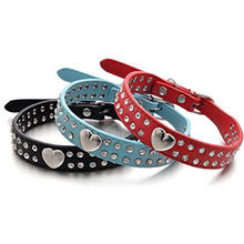 DIY Name Dog Collar Bling Personalized Pet Dog Collars with Buckle Puppy Cat Necklace Rhinestone Letters & Charms
