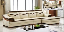 Leather sofa product in China of furniture factory Oppein Italy classic sofa Living room sofa OS-0114005(China)