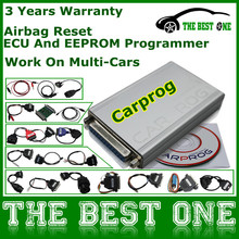 DHL Free Excellent Airbag Reset/Radio/Odometer/Immobilizer Repair Tool Carprog Programmer Car prog Full V9.31 Most Activated