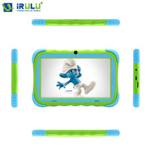 iRULU Y5 7'' Android 7.1 IPS 1024*600 Babypad Quad Core Dual Cam Tablet PC 1G+16G Wifi Bluetooth Silicone Case Gift for Children