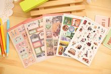 long legs series index decorative labels stickers diary sticker post it for planner DIY Scrapbooking sticker