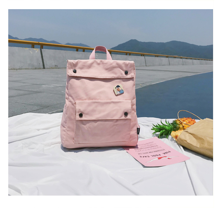 Menghuo Brand Female Women Canvas Backpack Preppy Style School Lady Girl Student School Laptop Bag Cotton Fabric bolsas00_31-1_20