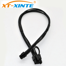 37cm Power Cable Mini 6pin to 8pin PCIe PCI-e Cable for Apple Mac iMAC Pro G5 Tower Video Card(China)