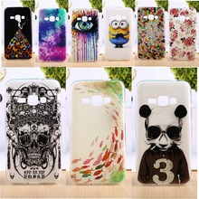 Hard Plastic&Soft TPU Silicone Phone Skin Case Cover For Samsung Galaxy j1 2016 J120 J120F Cases DIY Top Quality Phone Bags